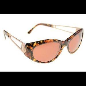 Vintage Fendi Tortoise Sunglasses with orig case
